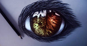 Eye of the dragon by ryky