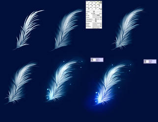 Easy Feather - tutorial by ryky