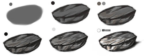 Stone tutorial by ryky