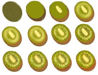 Kiwi -step by step by ryky