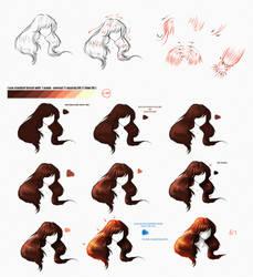 Hair Tutorial by ryky