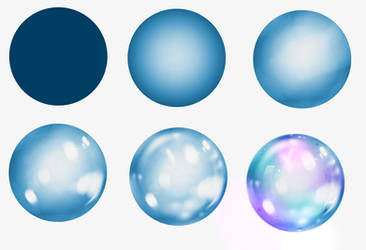 Bubble step by step 2 by ryky