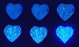 frozen heart step by step by ryky