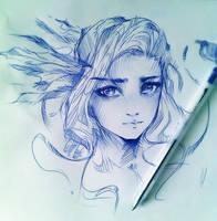 30 min sketch by ryky