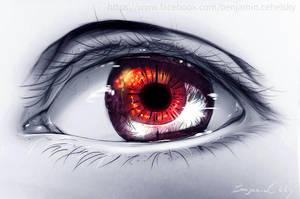 The eye  of friend by ryky