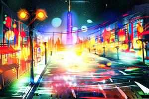 Rainbow street by ryky