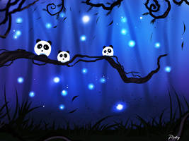 Panda Creatures by ryky
