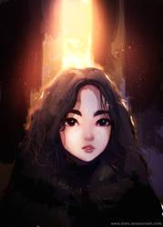 Arya Stark by ryky