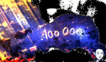 100 000 watchers by ryky