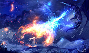 Fire and Ice by ryky