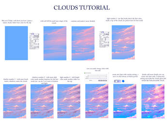 Easy way to paint a clouds by ryky
