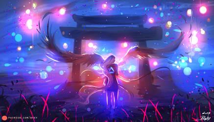 Angel  by ryky