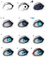 Eye tutorial by ryky