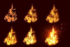 Fire tutorial - EASY by ryky