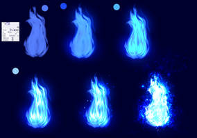 Blue Fire - EASY tutorial by ryky