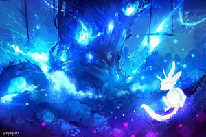 Ori and the blind forest  by ryky