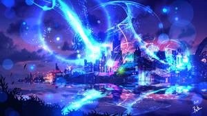 Cyberpunk City by ryky