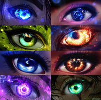 My eyes by ryky