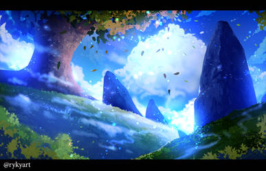 Blue Sunrise by ryky