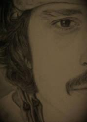 Johnny Depp by ZeorosKiza