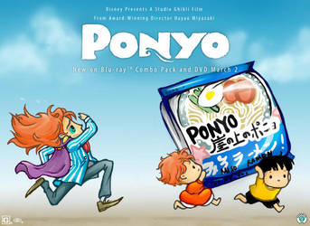 Ponyo Bigger Ramen by lailai