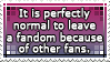 Fandom woes. We all have them. And that's okay. by Aetherya