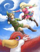 Skyward Sword by Daninha-LOL