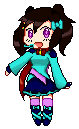 Kara chibi pixel by SunGuardian