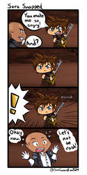 Sora Snapped comic [KH] by SunGuardian