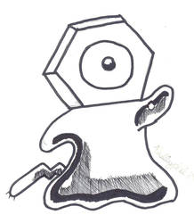 Meltan inktober by Phillyphil89