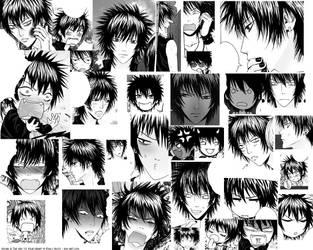 The Many Faces of Miyabi by pink-KILLER