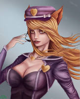 Popstar Ahri ~ by IronCollapse