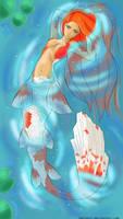 Koi Mermaid by FabisArt