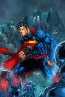 Superman 2013 Colors !!! (2) (final part) by viniciusmt2007