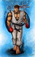 Ryu Ultra Street Fighter IV by viniciusmt2007