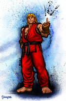 Ken Ultra Street Fighter IV by viniciusmt2007