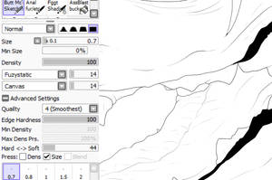 Brush Settings:  Lines! by ArtemisRa