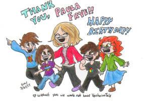 Happy Birthday Paula by ShoobaQueen