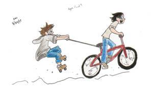 VT little PIE biking by ShoobaQueen
