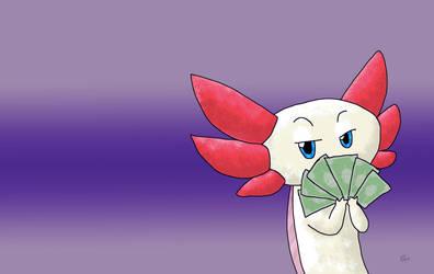 Phillip w/ cash dollars by ShoobaQueen