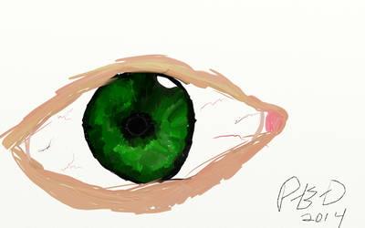 The Eye by Potateus