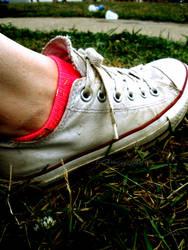 Syd's Shoe by lilXmisfitXgrl