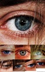 eyes stock by MenInASuitcase