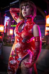 Tekken: Anna Williams Cosplay: Chaos Judgement by Khainsaw