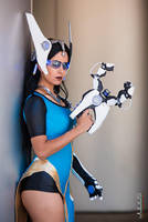 Overwatch Symmetra Cosplay : Death is an Illusion by Khainsaw
