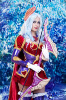 Heartseeker Ashe Cosplay : Ice Valentine by Khainsaw