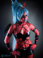 Panty and Stocking : Miss Kneesocks Demon Cosplay by Khainsaw