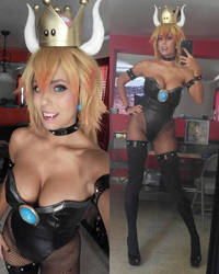 Bowsette Cosplay! by Khainsaw