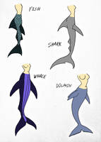 Guide to properly drawing mermaids Pg.11 by Jakegothicsnake