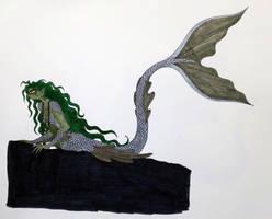 Hogwarts Black Lake Merpeople Concept Art #2 by Jakegothicsnake